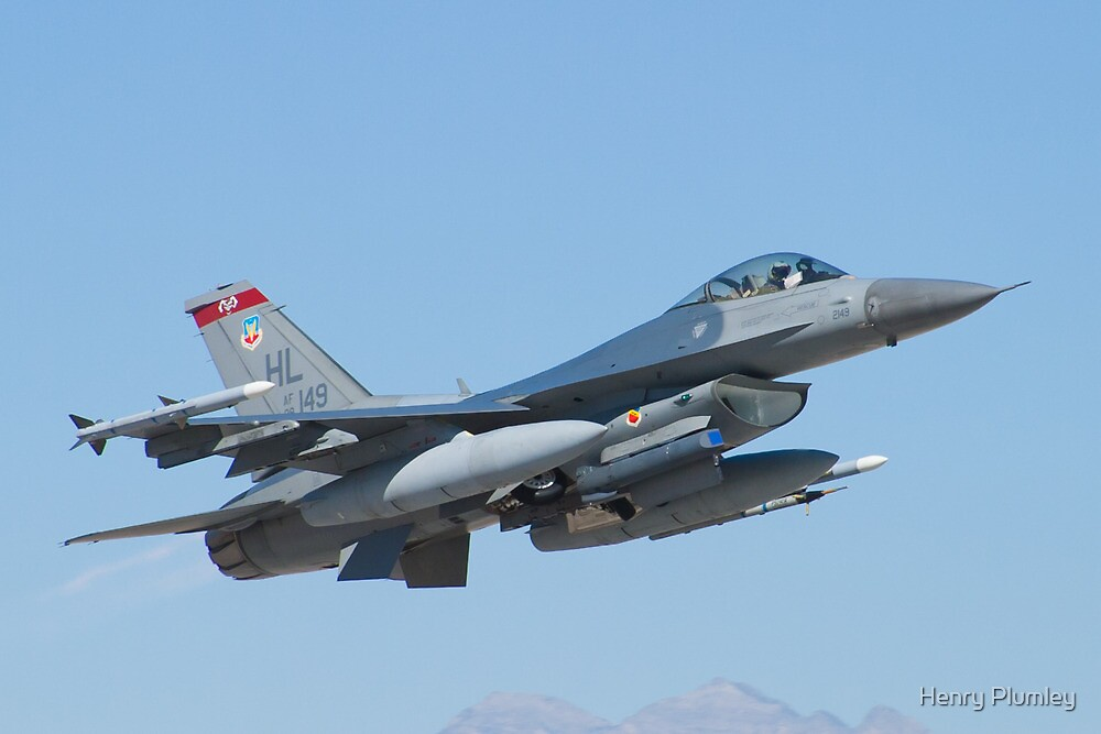 #HL AF 89 0149 F-16C Fighting Falcon by Henry Plumley