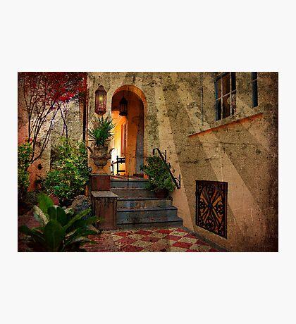 A Charleston Garden Photographic Print