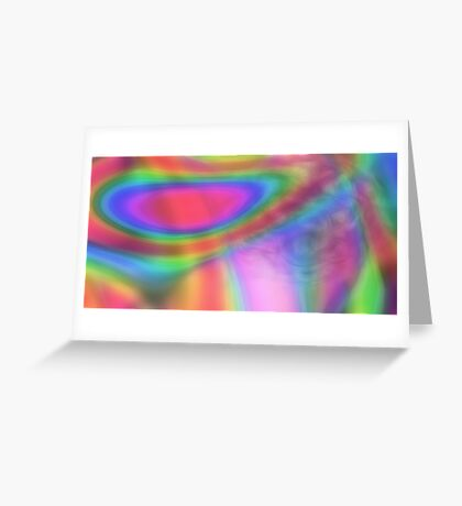 Soft Neon Greeting Card