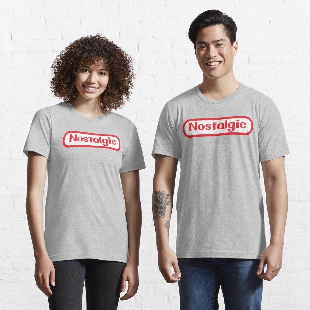NES Collection : Nostalgic Logo Essential T-Shirt