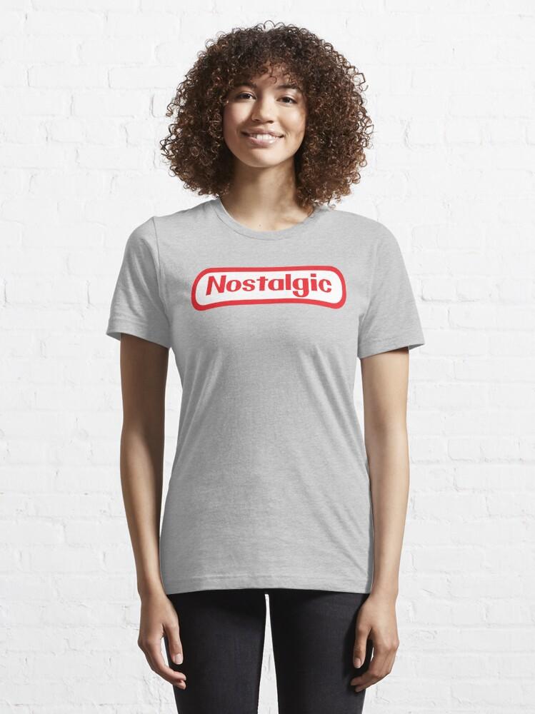 Alternate view of NES Collection : Nostalgic Logo Essential T-Shirt