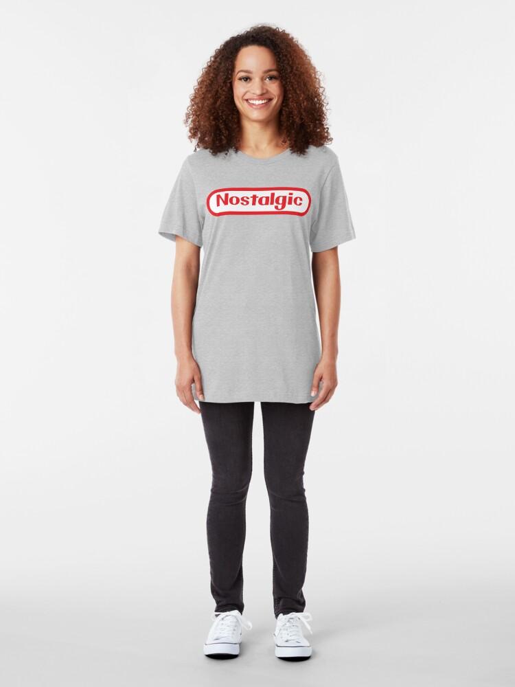Alternate view of NES Collection : Nostalgic Logo Slim Fit T-Shirt