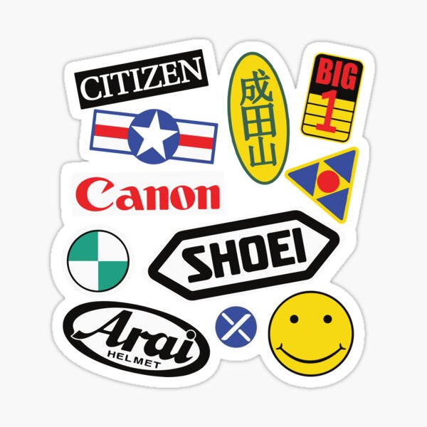 Kaneda's Bike Stickers on everything Sticker