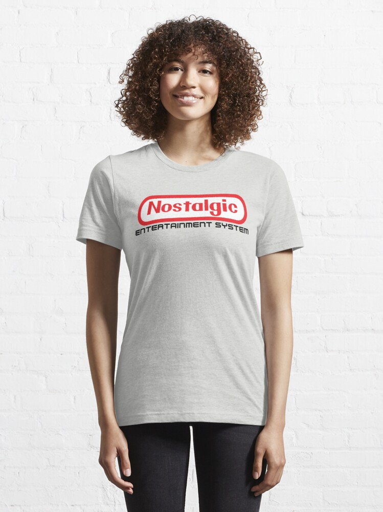 Alternate view of NES Collection : Nostalgic Entertainment System Essential T-Shirt