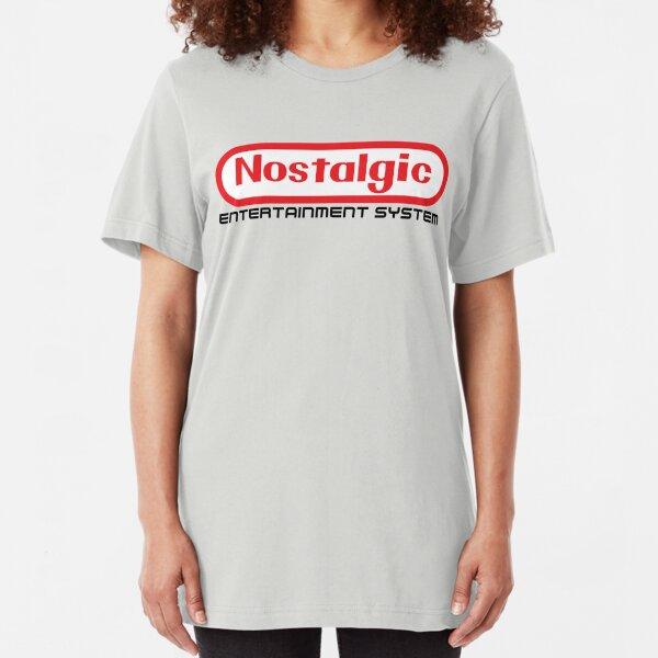 NES Collection : Nostalgic Entertainment System Slim Fit T-Shirt