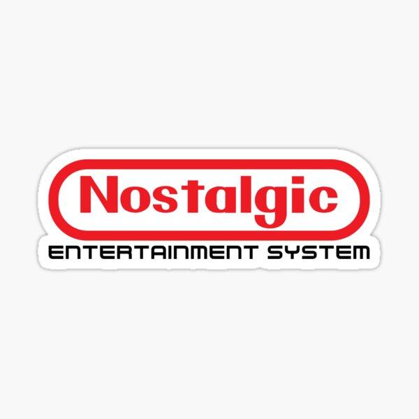 un moment extrêmement nostalgique pour les joueurs américains. J'ai créé cette petite série de designs en l'honneur de l'influence de Nintendo sur mon enfance.  Voir également... Logo nostalgique: http://www.redbubble.com/people/merimeaux/works/170066 Sticker