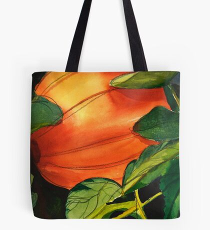 October Pumpkin Tote Bag