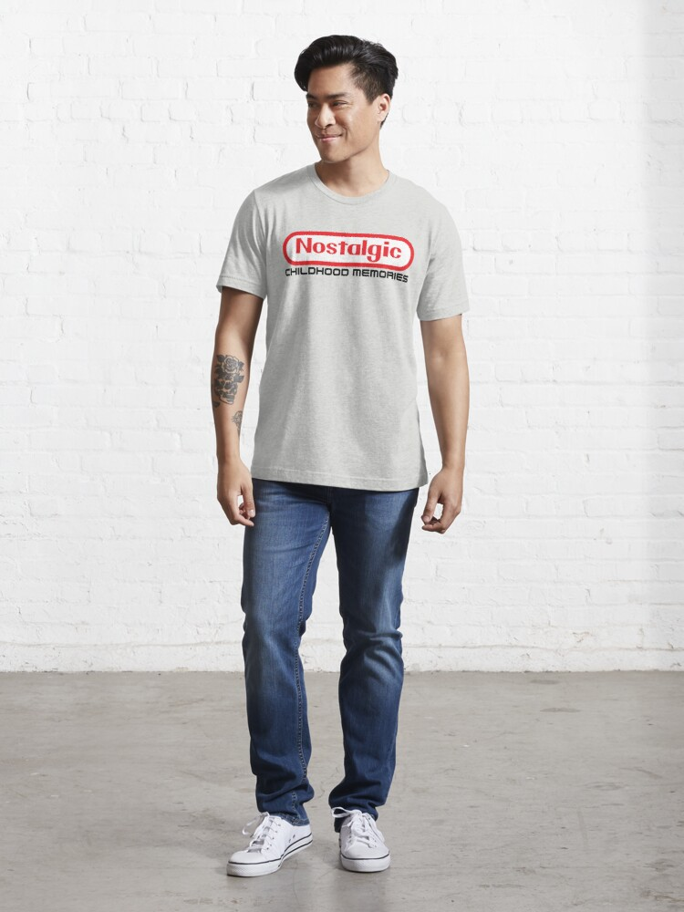 Alternate view of NES Collection : Nostalgic Childhood Memories Essential T-Shirt