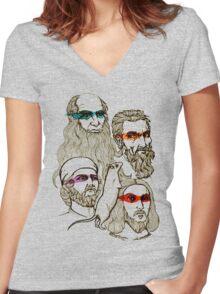 TMNT Women's Fitted V-Neck T-Shirt