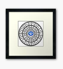 Stargate: Wormhole Dialing Ring Framed Print