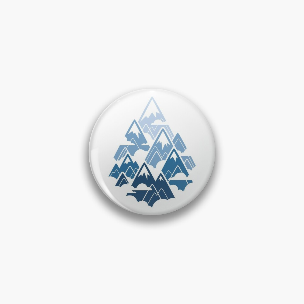 Misty Mountains Pin