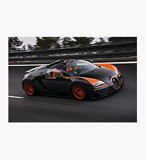 Bugatti Veyron Vitesse WRC Photographic Print