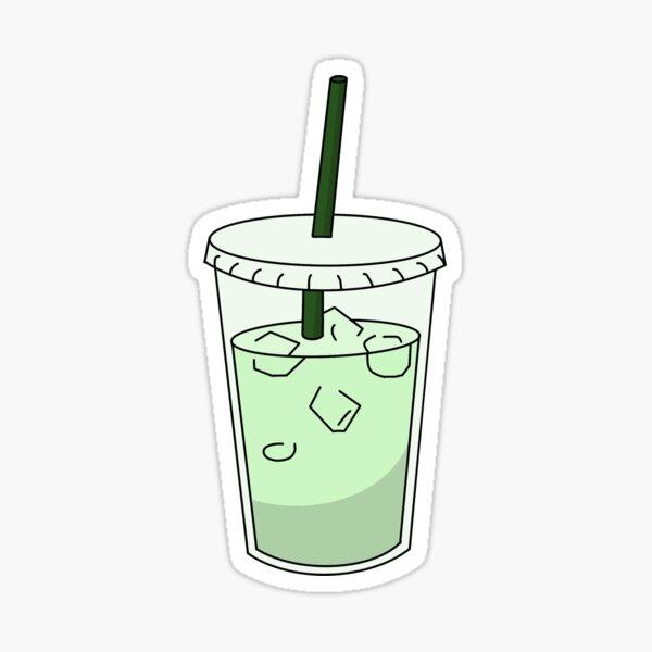 Matcha Drink Sticker