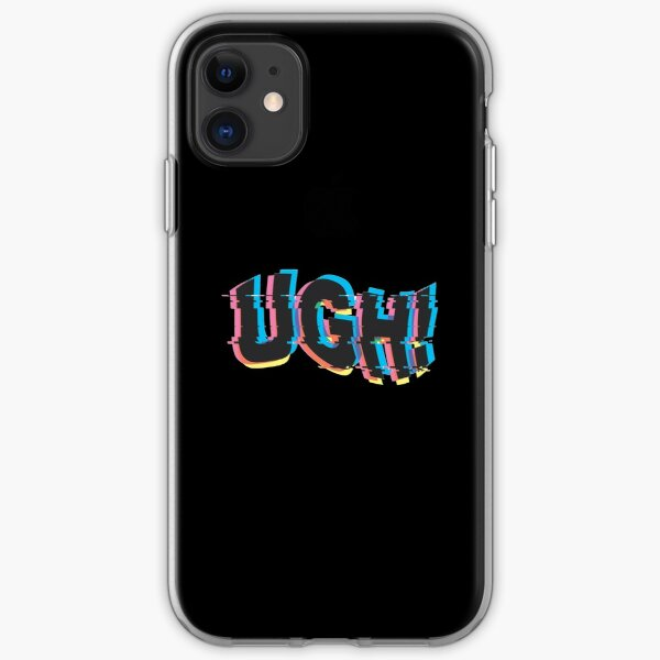 UGH! - BTS glitch art iPhone Soft Case