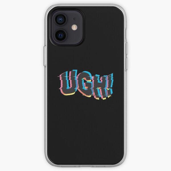 UGH! - BTS glitch art iPhone Soft Case