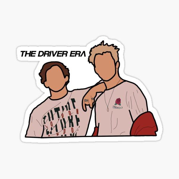 La etiqueta engomada de la era del conductor Pegatina