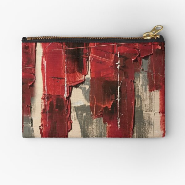 Painted Philosophy Zipper Pouch