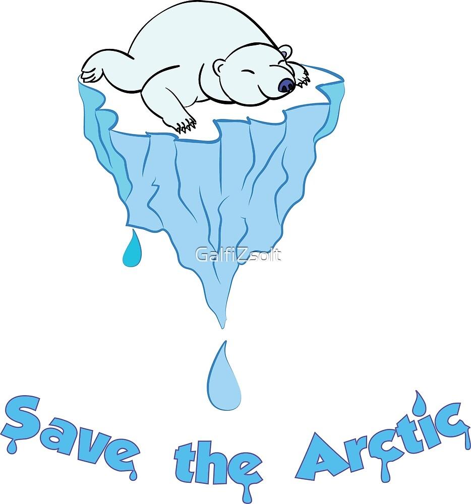 Save the Arctic bear by GalfiZsolt