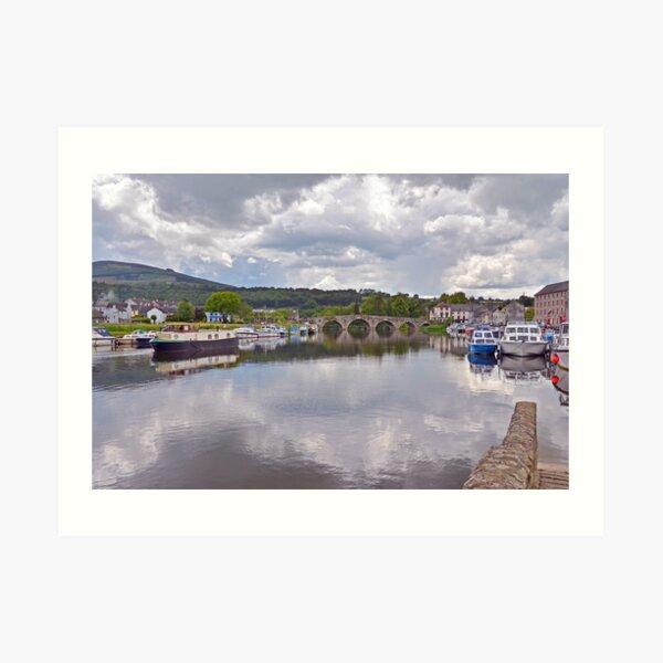 The River Barrow at Graiguenamanagh Art Print