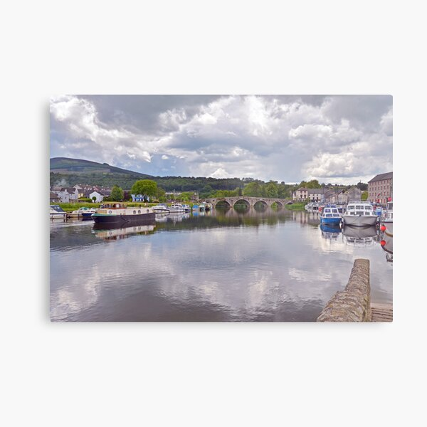 The River Barrow at Graiguenamanagh Metal Print