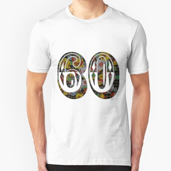 60 from canalsbywhacky Slim Fit T-Shirt