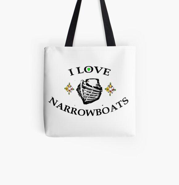 I love narrowboats 2  All Over Print Tote Bag