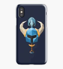 Low-Poly Shovel Knight iPhone Case