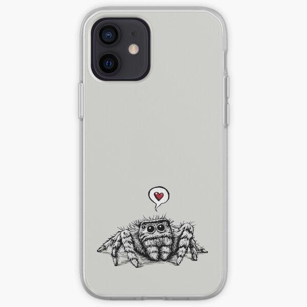 Spider Love iPhone Soft Case