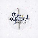 O Captain! my captain! by earthlightened
