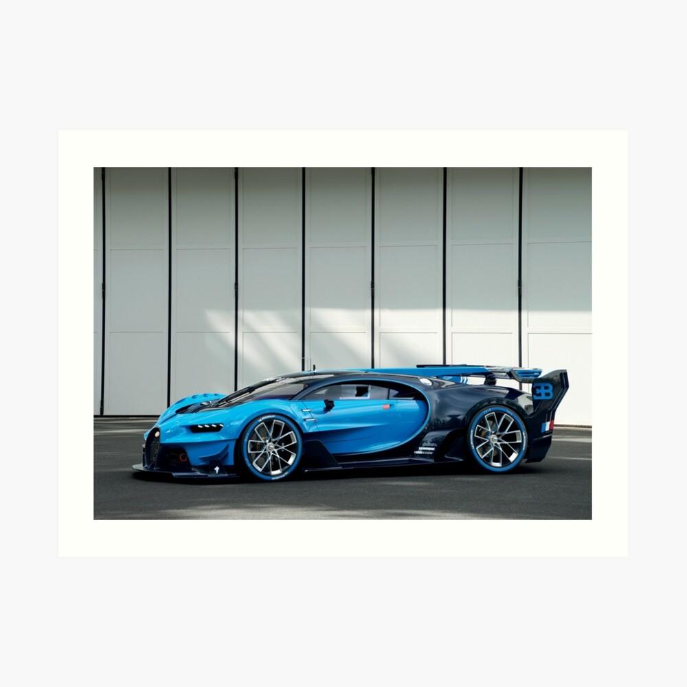 Bugatti Vision Gran Turismo Lámina artística