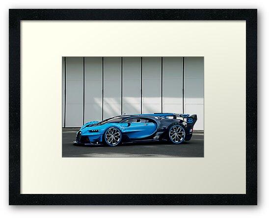 Bugatti Vision Gran Turismo by victorli428