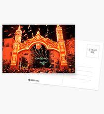 Alumbrado de Feria  Postcards