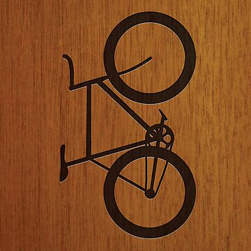 Bike ~ Wood Silhouette by hmx23
