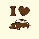 I Love Beetle by hmx23