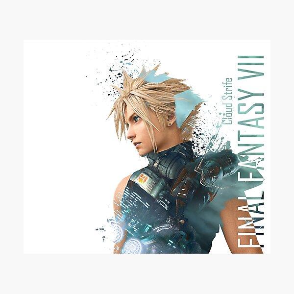 Cloud Strife - Final Fantasy 7 Photographic Print