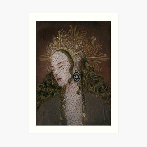 Reylo - Dark Queen Art Print