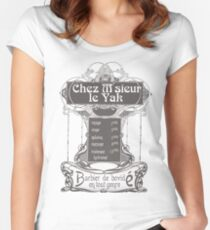 Chez M'sieur le Yak Women's Fitted Scoop T-Shirt