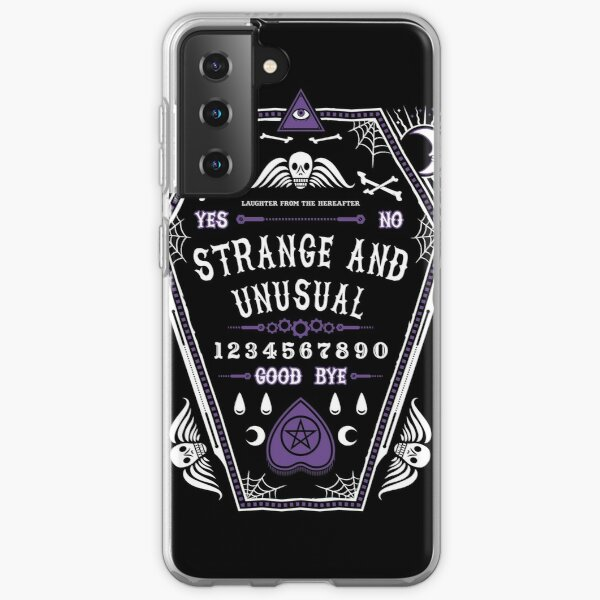 Strange and Unusual - Beetlejuice - Creepy Cute Goth - Occult Samsung Galaxy Soft Case