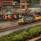Train - Pittsburg, PA - Station Square by Mike  Savad