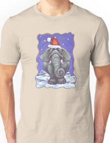 Elephant Christmas Unisex T-Shirt