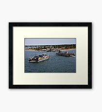 Chappy Ferries......Comin' and Goin' Framed Print