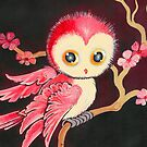 Sweet Red Owl by AngelArtiste