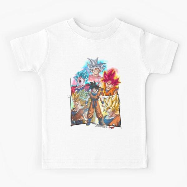 Collage de Son Goku T-shirt enfant