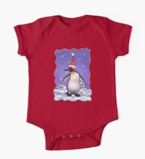 Penguin Christmas One Piece - Short Sleeve