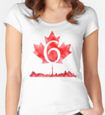 Toronto 6 Women's Fitted Scoop T-Shirt
