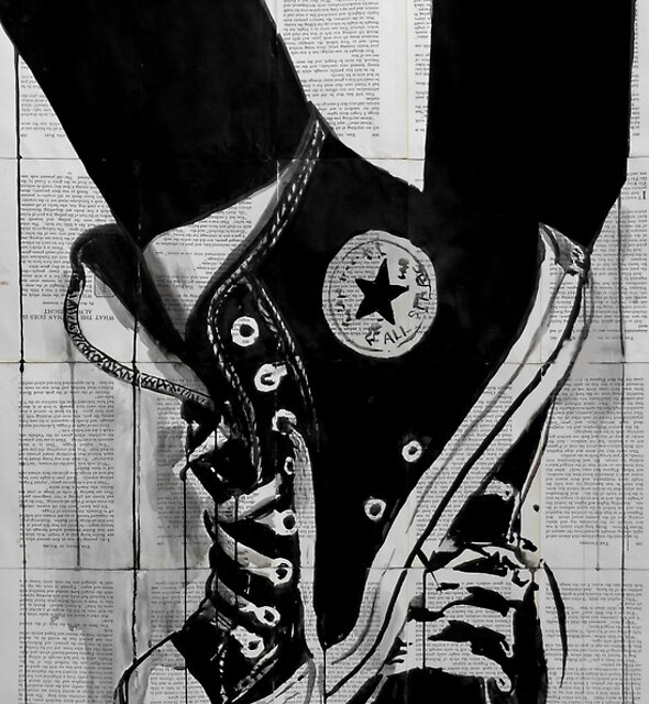 black by Loui  Jover