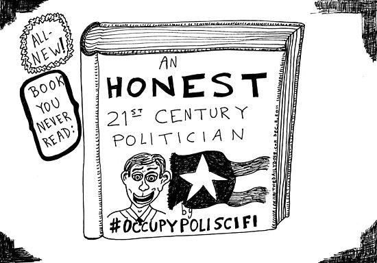 Occupy Poli Sci-Fi cartoon by bubbleicious