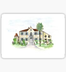 french chateau Sticker