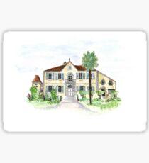 french chateau Sticker