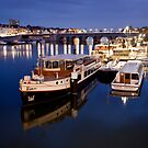 Maastricht, Jetty on Maas River by Marc Garrido Clotet